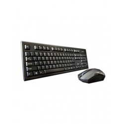 A4 Tech 3000N Wireless Keyboard with Bangla & Mouse