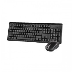 A4 Tech 4200N Black Wireless Keyboard & Padless Mouse Combo with Bangla