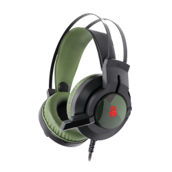 A4 Tech J437 Bloody Glare USB Army Green Gaming Headphone