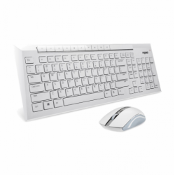 Rapoo 8200P White Wireless Keyboard & Mouse Combo
