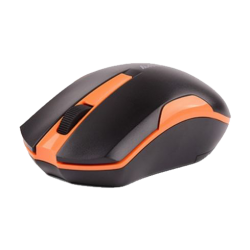 A4 Tech G3-200/200N Black & Orange Wireless Mouse
