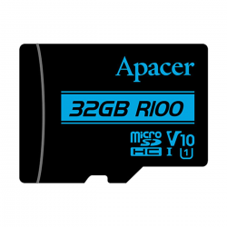 Apacer MicroSDHC UHS-1 U1 V10 R100 32GB with Adapter
