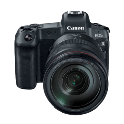 Canon EOS R Full-frame Mirrorless Camera Body with RF 24-105mm F4 IS USM Lens without Mount Adapter