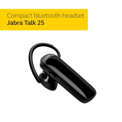 HEADSET JABRA BLUETOOTH TALK 25 BLACK