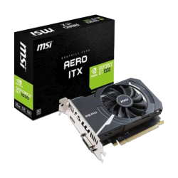 MSI GeForce GT 1030 AERO ITX 2G OC 2GB GDDR5 Graphics Card