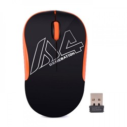 A4Tech G3-300N Black-Orange V-Track Wireless Mouse