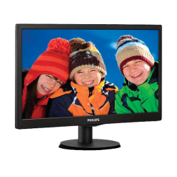 PHILIPS 18.5 Inch 193V5LHSB2_94 LED MONITOR (HDMI, VGA)