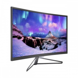 Philips 328C7QJSG/69 32 Inch Full HD Curved LCD Monitor (VGA, DVI-Dual Link, DP, HDMI)