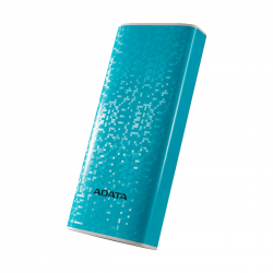 A Data P10000 Blue Power Bank (10000mAh)