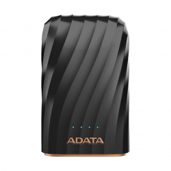 A Data P10050C Black Power Bank (10050mAh)