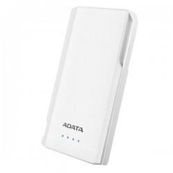 A Data S10000 White Power Bank (10000mAh)