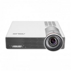ASUS P3B (800 Lumens) Portable WXGA LED Projector (Built-in 12000mAh Battery, Short Throw, Up to 3-hour Projection, Power Bank, Multimedia Player)