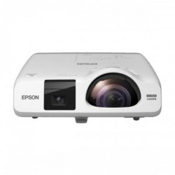 Epson 536Wi (3400 Lumens) Short Throw Interactive WXGA 3LCD Projector (Interactive Pen, None Touch, Multi-PC projection)