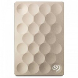 Seagate Backup Plus Ultra Slim 1TB USB 3.0 Gold External HDD #STEH1000301