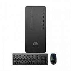 HP Desktop Pro G2 9th Gen Intel Core i3 9100 (3.60GHz-4.20GHz, 4GB DDR4 2666MHz, 1TB HDD, DVD RW) Intel H370 Chipset, USB Keyboard & Mouse, Free DOS, Micro Tower Brand PC #8EN51PA