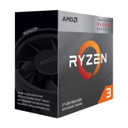 (Bundle with PC) AMD Ryzen 3 3200G 3.6GHz-4.0GHz 4 Core AM4 Socket Processor With Vega 8 Graphics