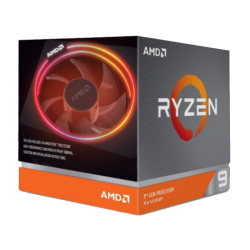(Bundle With PC) AMD Ryzen 9 3900X 3.8GHz-4.6GHz 12 Core AM4 Socket Processor (Without GPU)