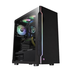 Thermaltake H200 TG RGB ATX 1x Tempered Glass Side Window Mid Tower Gaming Casing