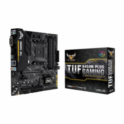 Asus TUF B450M-PLUS GAMING DDR4 AMD AM4 Socket Mainboard