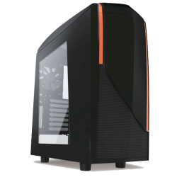NZXT Casing Phantom 240 Matte Black+Red