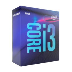 (Bundle with PC) Intel 9th Gen Coffee Lake Core i3 9100 3.60GHz-4.20GHz, 4 Core, 6MB Cache LGA1151 Socket Processor