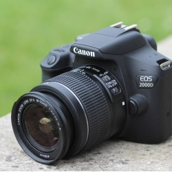 Canon EOS 2000D Digital SLR Camera with EF-S 18-55 mm f/3.5-5.6 IS II Lens